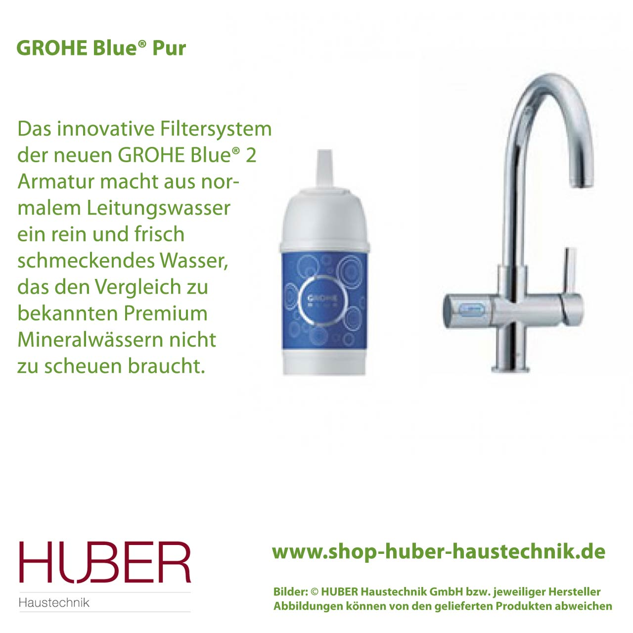 grohe blue pur trinkwasservitalisierung wasser huber haustechnik shop. Black Bedroom Furniture Sets. Home Design Ideas
