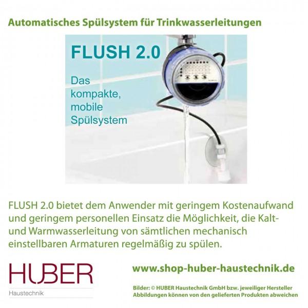 Automatisches Spülsystem für Wasserleitungen - FLUSH 2.0
