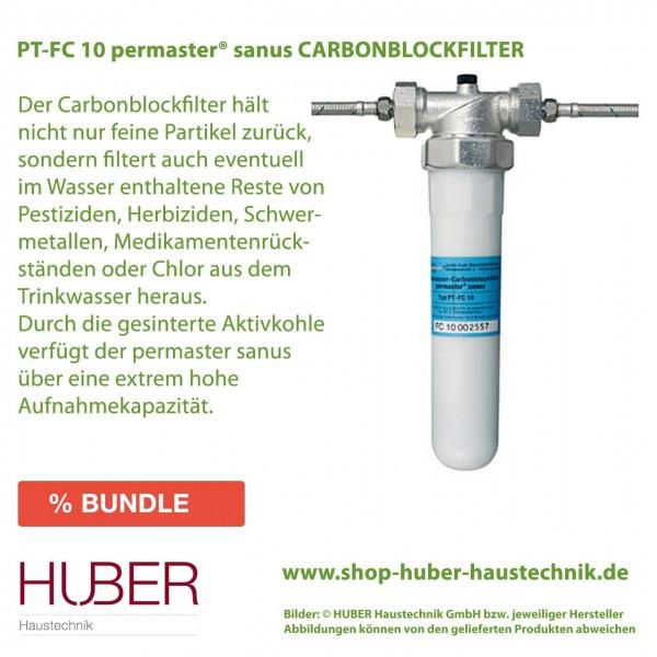 PT-FC 10 permaster sanus CARBONBLOCKFILTER