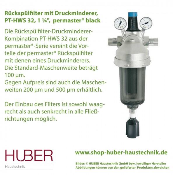 Filter-Druckminderer-Kombination permaster® black