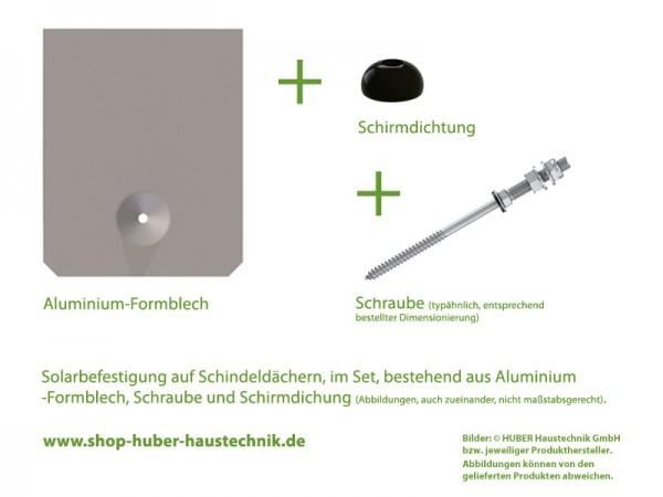Aluminium Solar-Schindel-Set 246 x 205
