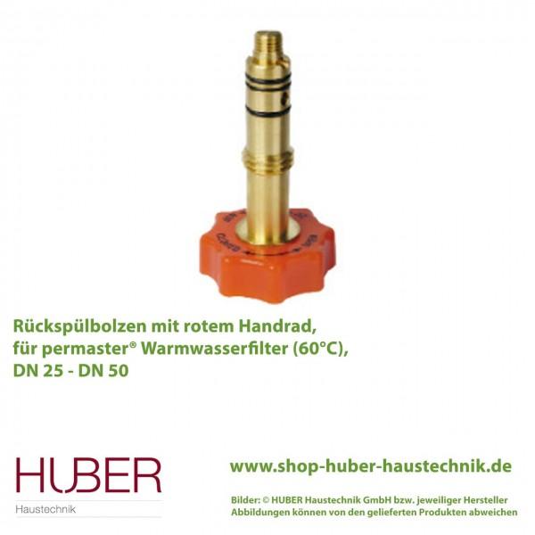 PT-FM-RSW Rückspülbolzen PT-FM-RS, Warmwasser, Original-Ersatzteil für permaster® Rückspülfilter