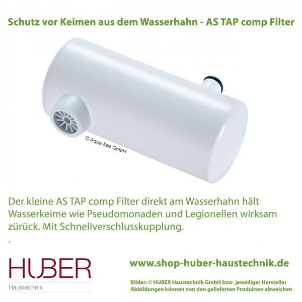 Schutz vor Keimen mit Wasserhahnfilter AS TAP comp