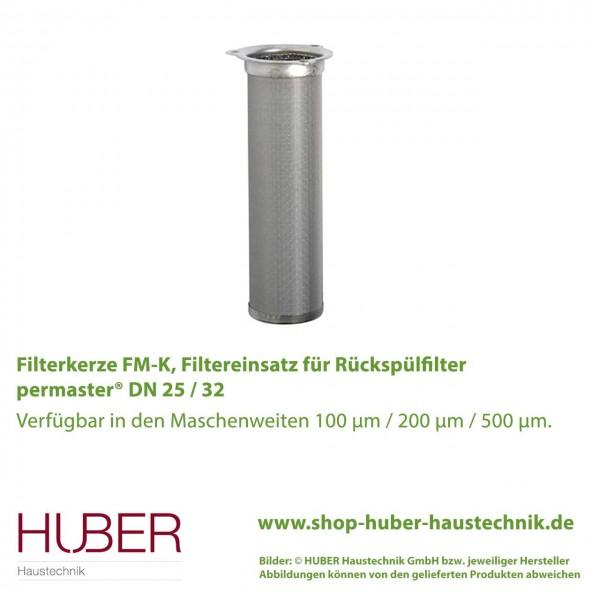 Filterkerze FM K für Rückspülfilter permaster® DN 25 / 32