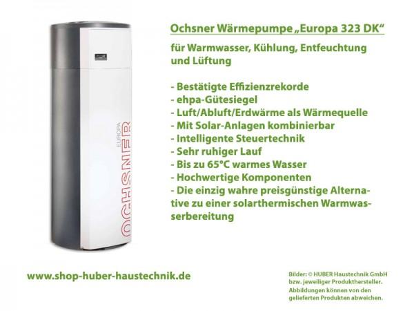 Ochsner Europa 323 DK Warmwasser Wärmepumpe