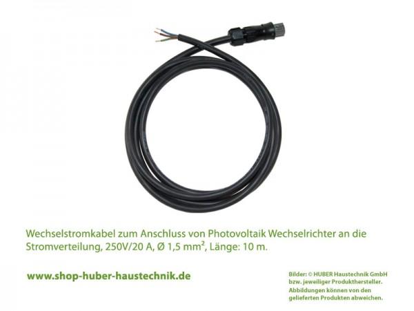 Wechselstromkabel, AC-Kabel für Photovoltaik Wechselrichter Anschluss