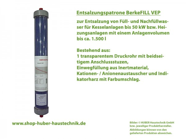 BerkeFILL VEP Entsalzungspatrone