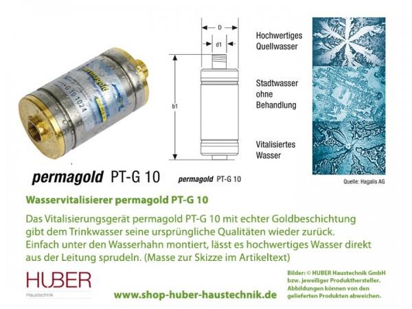 PT-G 10 Trinkwasser-Vitalisierung permagold