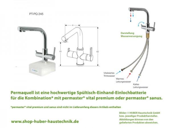 Permaquell 3-Wege-Armatur PT-PQ 245