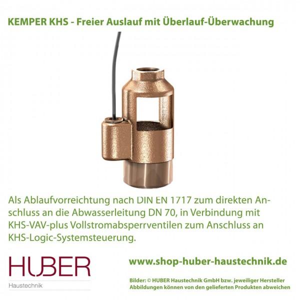 KEMPER KHS - Freier Auslauf mit Überlauf-Überwachung