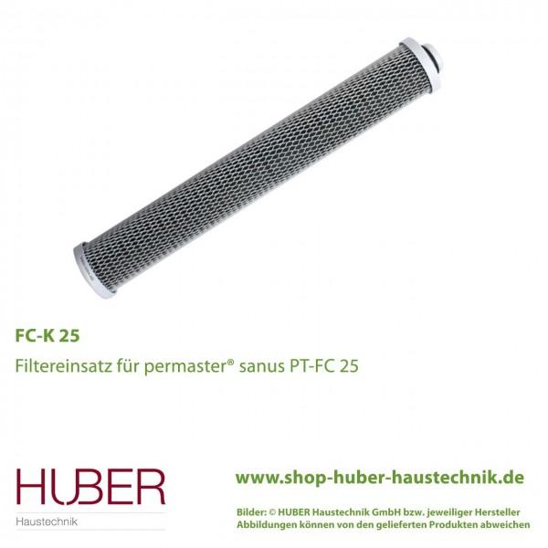 Filtereinsatz FC-K 25 für permaster® sanus PT-FC 25