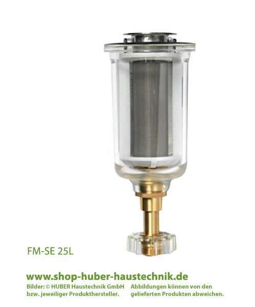 Serviceeinheit (DN 25 / 32) mit Tasse und Bürste für permaster®-Filter bis Bj. 2002, Kaltwasser