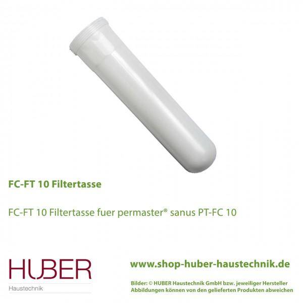 Filtertasse für permaster© sanus PT-FC 10