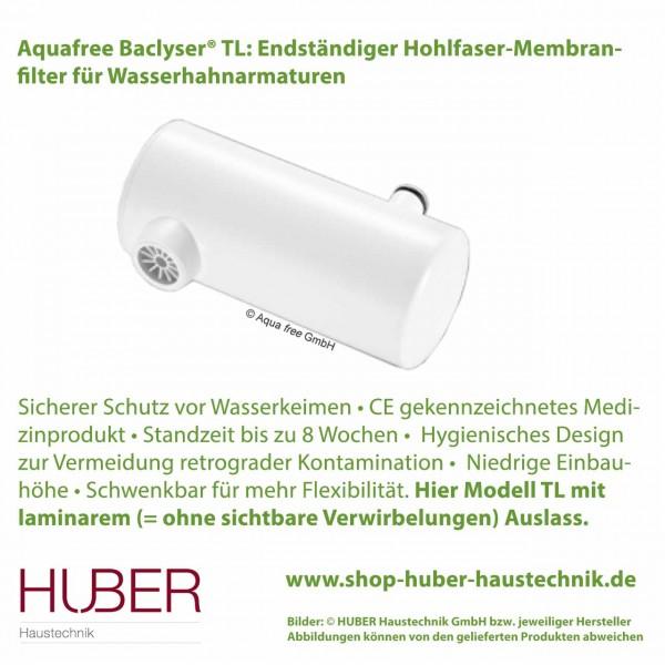 Baclyser TL - Wasserhahnfilter zum Schutz vor Keimen