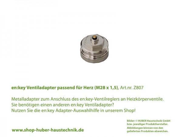 en:key Adapter passend für Herz M28 X 1,5 m
