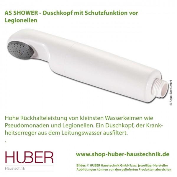 AS Shower - Duschkopf mit Schutzfunktion vor Legionellen
