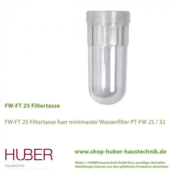 Filtertasse für minimaster Wasserfilter PT-FW 25 / 32